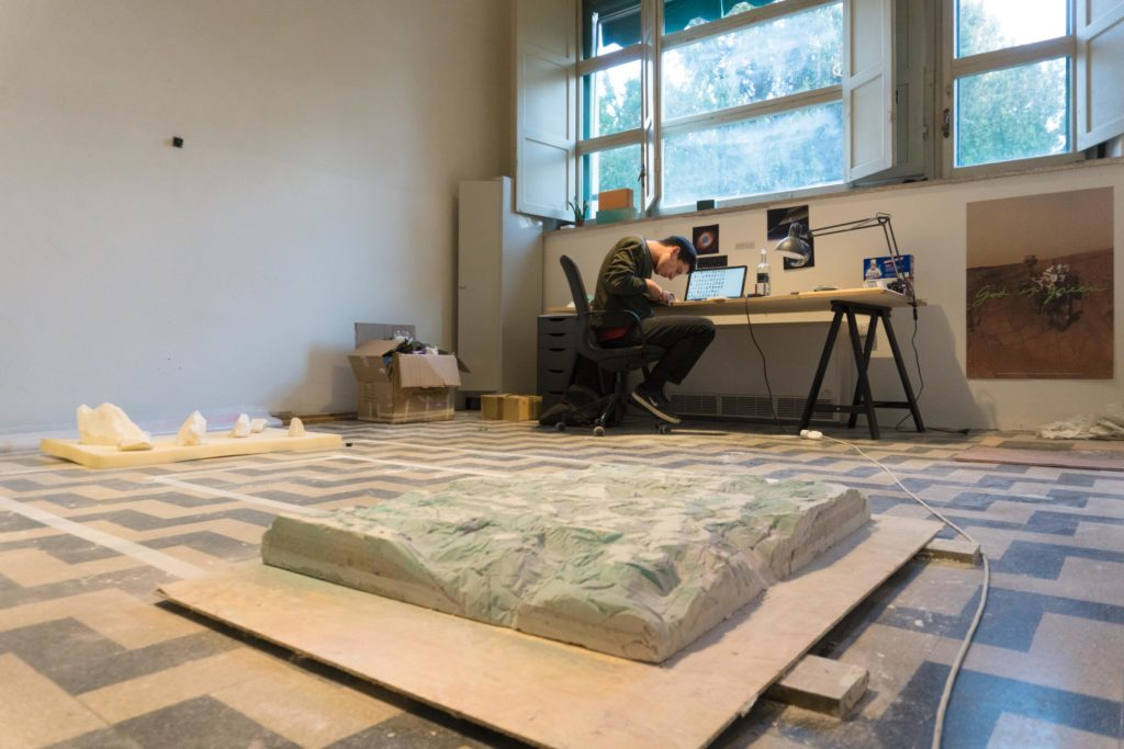 Atelier artista in residenza La cura 2018-19