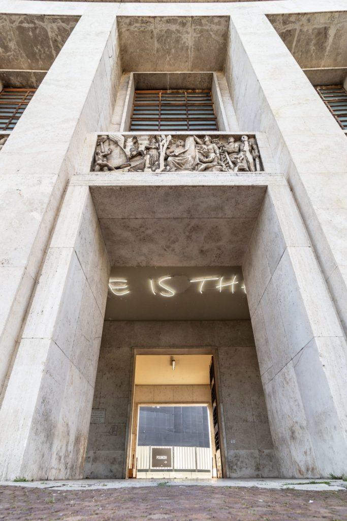 Residenze d'artista La Cura Opera collettiva Love is theft 2019