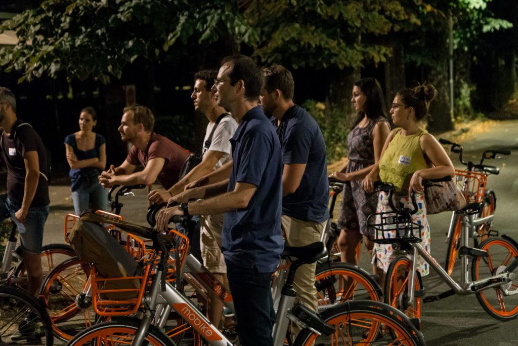 Grand Tour in bici in notturna Manifattura Tabacchi