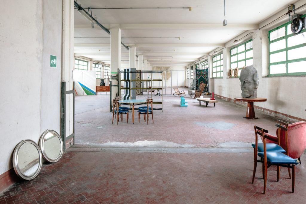 Magazzino Canificio e Mono B9 Manifattura Tabacchi Firenze atelier artigianato modernariato